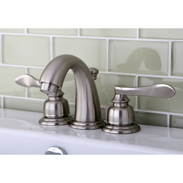 Nuwave Brushed Nickel Mini-Widespread Bathroom Faucet