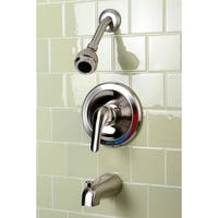 Classic 1-Handle Satin Nickel Tub and Shower Faucet
