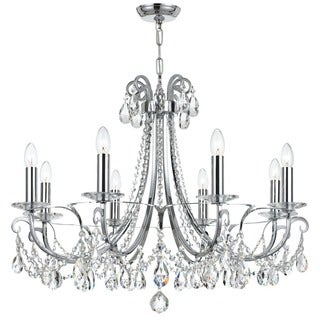 Crystorama Othello Collection 8-light Polished Chrome Chandelier