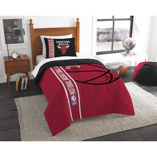 NBA 835 Bulls Twin Comforter Set