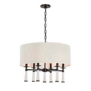 Crystorama Baxter Collection 6-light Oil Rubbed Bronze Chandelier