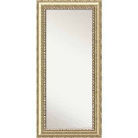 Wall Mirror Choose Your Custom Size - Oversize, Astoria Champagne Wood
