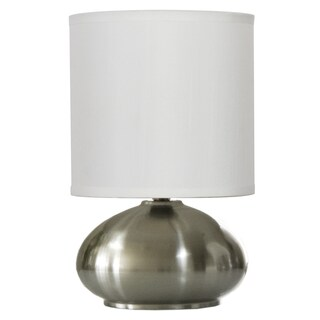 Light Accents Versailles Brushed Nickel Touch Lamp