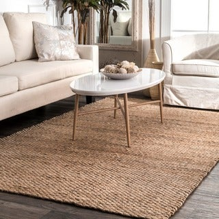 The Gray Barn Mayan Handmade Natural Jute Area Rug (12' x 15')