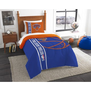 The Northwest Company NBA New York Knicks Twin 2-piece Comforter Set