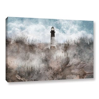 Roozbeh Bahramali's 'Lighthouse 1' Gallery Wrapped Canvas