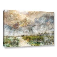 Roozbeh Bahramali's 'Mountain Path' Gallery Wrapped Canvas
