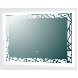 Vadara DL48 39.4-inch x 27.6-inch Touch/Sensor Activated LED Mirror