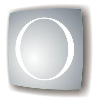 MTD Vanities Vadara 27.5-inch x 27.5-inch Halo LED Illuminated Mirror