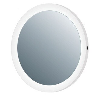 MTD Vanities Vadara White Aluminum Touch Activated LED Mirror