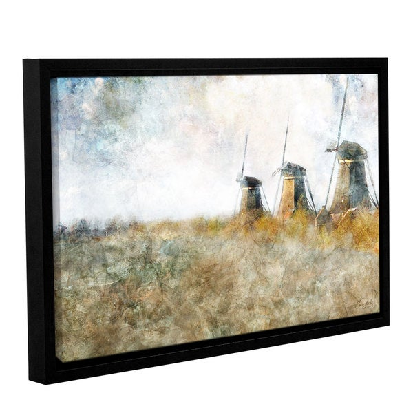 36 by 48 ArtWall Ken Kirshs Tranquility 4 Piece Gallery-Wrapped Canvas Set