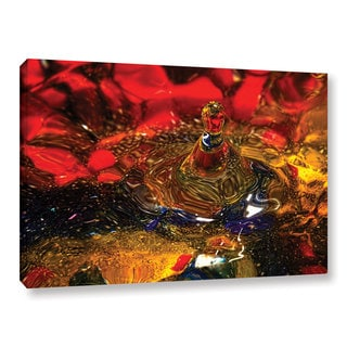 Connie Publicover's 'Vibrant Love' Gallery Wrapped Canvas
