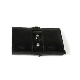 Charriol Olympia Black-Green Calfskin Wallet