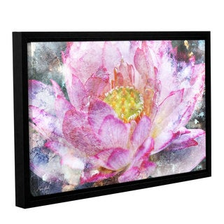 Roozbeh Bahramali's 'Blossom' Gallery Wrapped Floater-framed Canvas