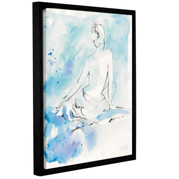 Dusty Knight's 'Evening Repose I' Gallery Wrapped Floater-framed Canvas