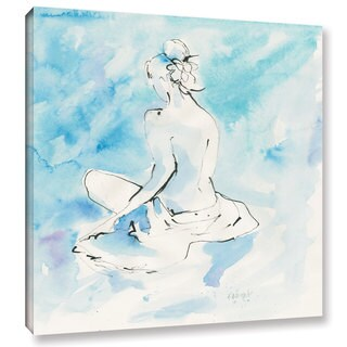 Dusty Knight's 'Evening Repose II' Gallery Wrapped Canvas