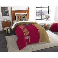 The Northwest Company NFL San Francisco 49ers Twin Comforter Set