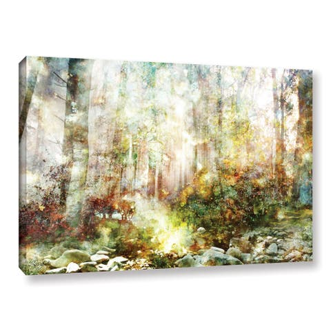 Roozbeh Bahramali's 'Magical Forest' Gallery Wrapped Canvas