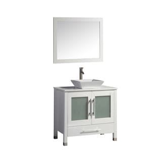 Malta 36-inch Single Sink Bathroom Vanity Set