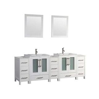 Argentina 108-inch Double-sink Bathroom Vanity Set