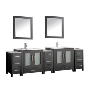 Argentina 108-inch Double-sink Bathroom Vanity Set