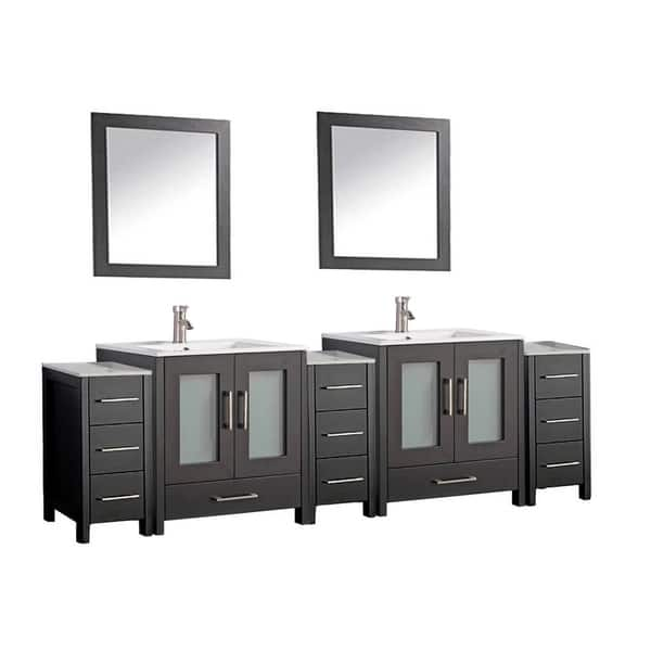 Shop Mtd Vanities Argentina 96 Inch Double Sink Bathroom Vanity And Cabinets Set Overstock 12135873,Paper Shredder Reviews Nz