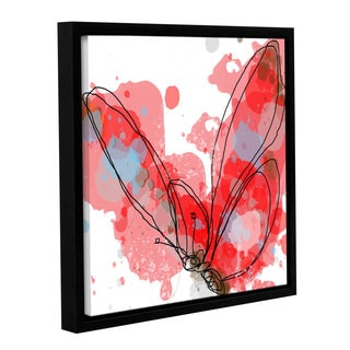 Irena Orlov's 'Butterfly 8' Gallery Wrapped Floater-framed Canvas