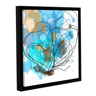 Irena Orlov's 'Butterfly 11' Gallery Wrapped Floater-framed Canvas