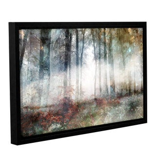 Roozbeh Bahramali's 'Into The Light' Gallery Wrapped Floater-framed Canvas