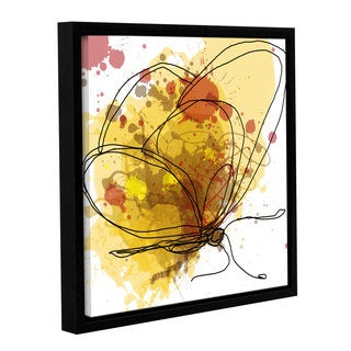 Irena Orlov's 'Butterfly 12' Gallery Wrapped Floater-framed Canvas