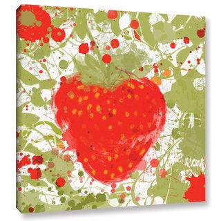 Irena Orlov's 'Strawberry' Gallery Wrapped Canvas