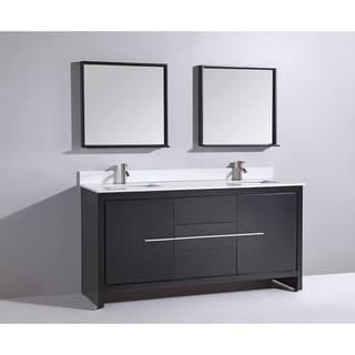 black bathroom vanities  shop the best deals for mar, Bathroom decor