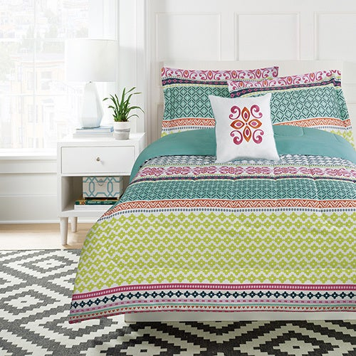 Melinda Comforter Set with Decorative Pillow