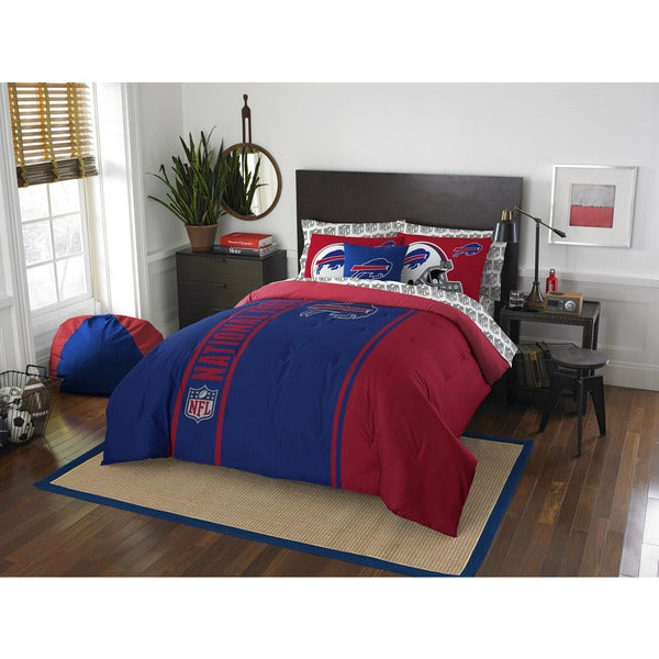 The Northwest Company NFL Buffalo Bills Full 7-piece Bed in a Bag with Sheet Set