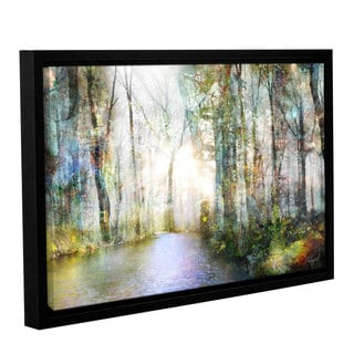 Roozbeh Bahramali's 'Hope' Gallery Wrapped Floater-framed Canvas