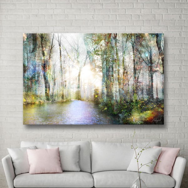 Maison Rouge Roozbeh Bahramali's 'Hope' Gallery Wrapped Canvas