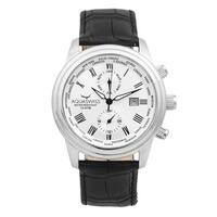 Aquaswiss Unisex Black/White Classic V Watch