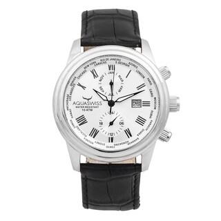 Aquaswiss Unisex Black/White Classic V Watch