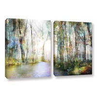 Roozbeh Bahramali's 'Hope' 2-piece Gallery Wrapped Canvas Set