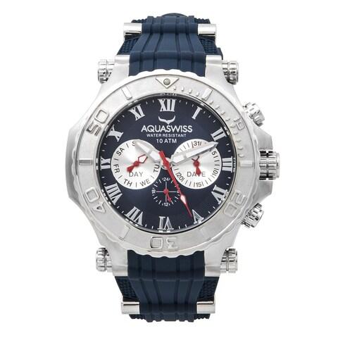 Aquaswiss Men's Blue Bolt 5H Watch