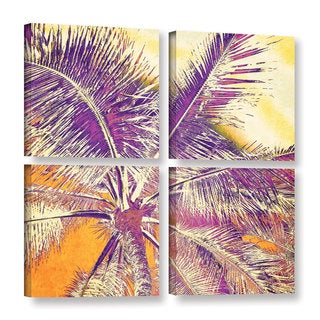 Irena Orlov's 'Sunrise Over' 4-piece Gallery Wrapped Canvas Square Set