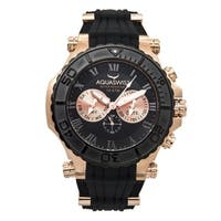 Aquaswiss Men's 39G5005 Black and Rosegold Stainless Steel Bolt 5H Watch