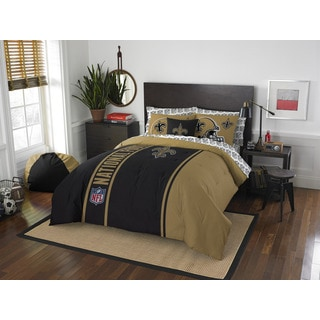 The Northwest Company NFL New Orleans Saints Full 7-piece Bed in a Bag with Sheet Set