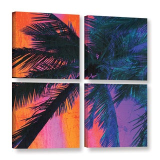 Irena Orlov's 'Late Afternoon' 4-piece Gallery Wrapped Canvas Square Set