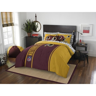 NFL 846 Redskins Full 7-piece Bed in a Bag with Sheet Set