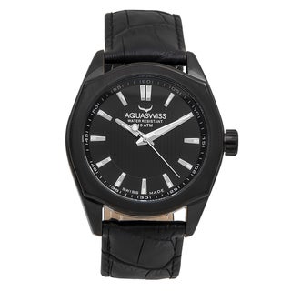 Aquaswiss Unisex Black Classic IV Watch