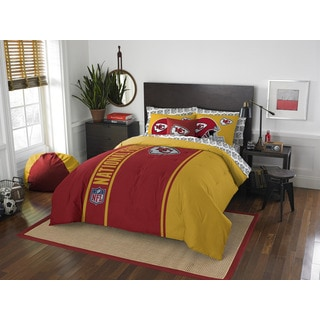 The Northwest Company NFL Kansas City Chiefs Full 7-piece Bed in a Bag with Sheet Set