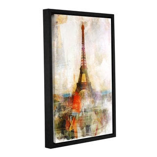 Roozbeh Bahramali's 'Beautiful Paris' Gallery Wrapped Floater-framed Canvas