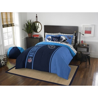 NFL 846 Titans Full 7-piece Bed in a Bag with Sheet Set