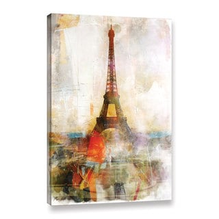 Roozbeh Bahramali's 'Beautiful Paris' Gallery Wrapped Canvas
